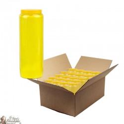 Candles Novena - Yellow