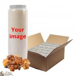 Myrrh fragrance candles novena customizable