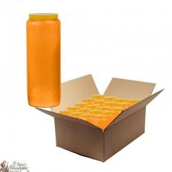 Novena candles - Orange