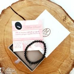 Blue sand pearl bracelet
