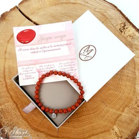 Natural stone bracelet Red Jasper