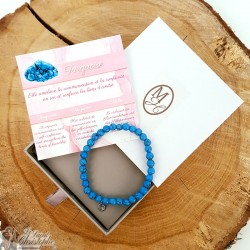 Turquoise natural stone bracelet