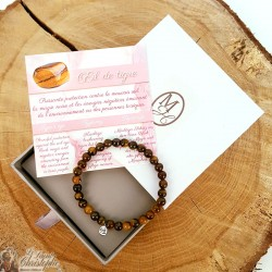 Natural stone bracelet Tiger eye