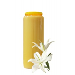 Bougies de Neuvaine - Ocres - parfum Lys