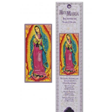 """Pochette encens """"Notre Dame de la Guadeloupe"""" - 15 pces - 60gr"""