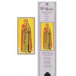 Pochette encens - Notre Dame du Perpétuel Secours - 15 pces