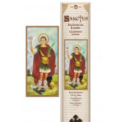 Saint Expedit incense pouch - 15 pces