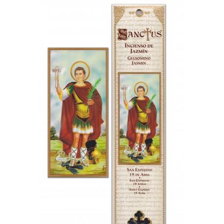 """Pochette encens """"Saint Expedit"""" - 15 pces - 60gr"""
