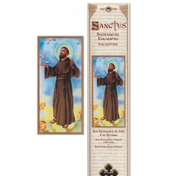 Incense Saint Francis of Assisi pouch - 15 pces