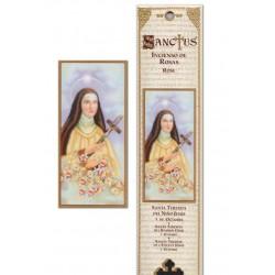 Pochette encens - Sainte Thérèse - 15 pces - 60gr