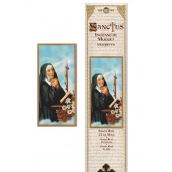 Pochette encens - Sainte Rita - 15 pces - 60gr