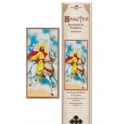 Pochette encens - Saint Jacques - 15 pces - 60gr