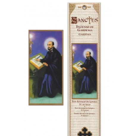 """Pochette encens """"Saint Ignace de Loyola"""" - 15 pces - 60gr"""