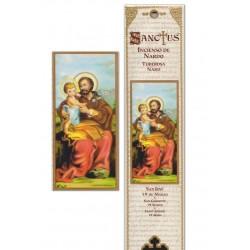 Saint Joseph Incense pouch - 15 pces - 60gr