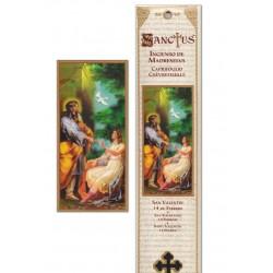 Saint Valentine incense pouch - 15 pces - 60gr