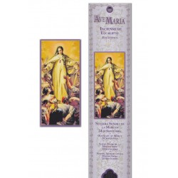 Virgin of mercy incense pouch - 15 pces - 60gr