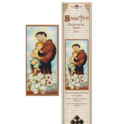 Saint Anthony incense pouch - 15 pces - 60gr
