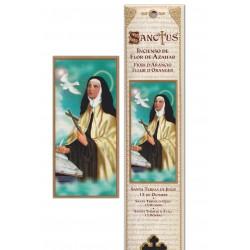 Pochette encens - Sainte Thérèse de Jésus - 15 pces - 60gr