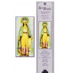 Pochette encens - Vierge Miraculeuse - 15 pces - 60gr