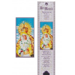 virgin Macarena incense pouch - 15 pces - 60gr