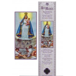 Virgin of the Charity of El Cobre Incense pouch - 15 pces - 60gr