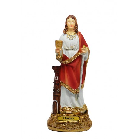 Sainte Barbe 14 cm