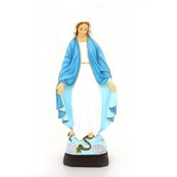 Vierge Miraculeuse en polyrésine 60 cm