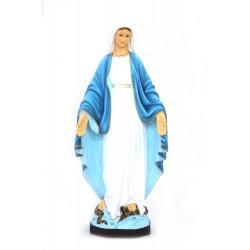 Vierge Miraculeuse en polyrésine 80 cm
