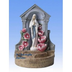 Fontaine de la Vierge de Banneux ND