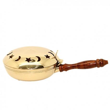 Encensoir à main - poignée - 22 cm
