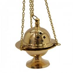 Encensoir en cuivre avec chaînette