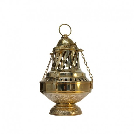 Copper censer - large size - 21 x 33 cm