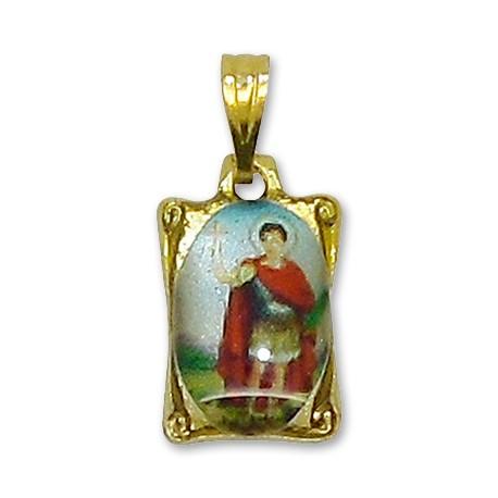 Médaille St Expedit rectangulaire