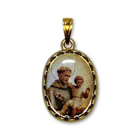 Médaille de Saint Antoine ovale