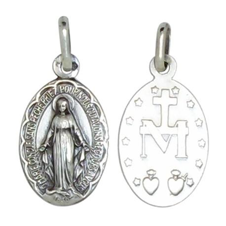 Médaille de la Vierge Miraculeuse 15 mm