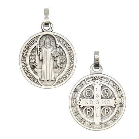 Médaille de Saint Benoit 25 mm