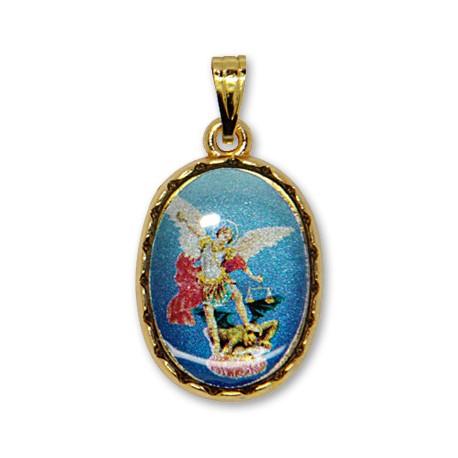 Médaille de St Michel ovale