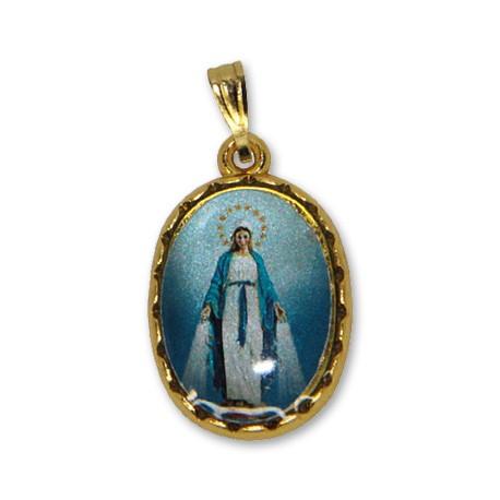 Médaille de la Vierge Miraculeuse ovale