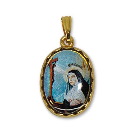 Médaille de Sainte Rita ovale