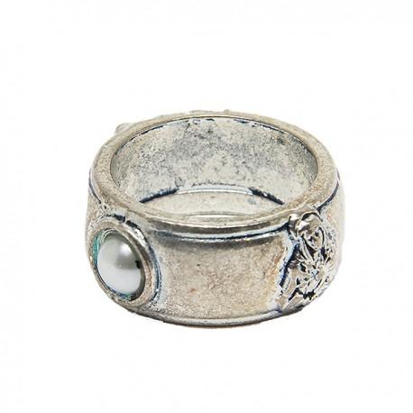 Bague dizaine Sainte Rita métal argenté