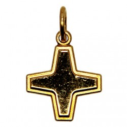 Gold plated cross - 1.6 cm