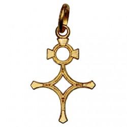 Croix du Sud plaqué or - 27 mm