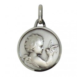 Medal little Angel 18 mm - Silver 925