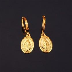 Earrings of the Miraculous Virgin