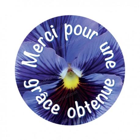"""Autocollants ronds - 45 mm - """"Croix bleue"""" - 120 pièces"""