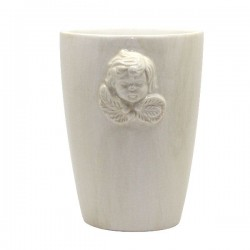 English Ceramic Angel Pot - 12 cm