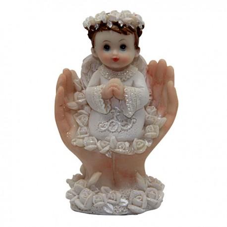 Sujet Ange blanc - 9 cm