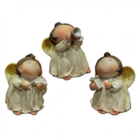 Anges Musiciens lot de 3 pièces
