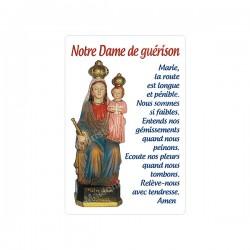 """Autocollants Rectangulaires - """"Notre-Dame de guérison - 2"""" - 8 pièces - Français"""