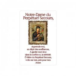 """Autocollants Rectangulaires - """"Notre-Dame du Perpétuel Secours"""" - 8 pièces - Français"""
